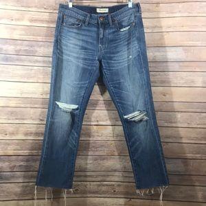 Madewell slim boyfriend jeans